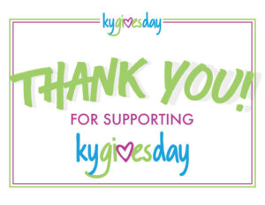 KY Gives Day Thank You