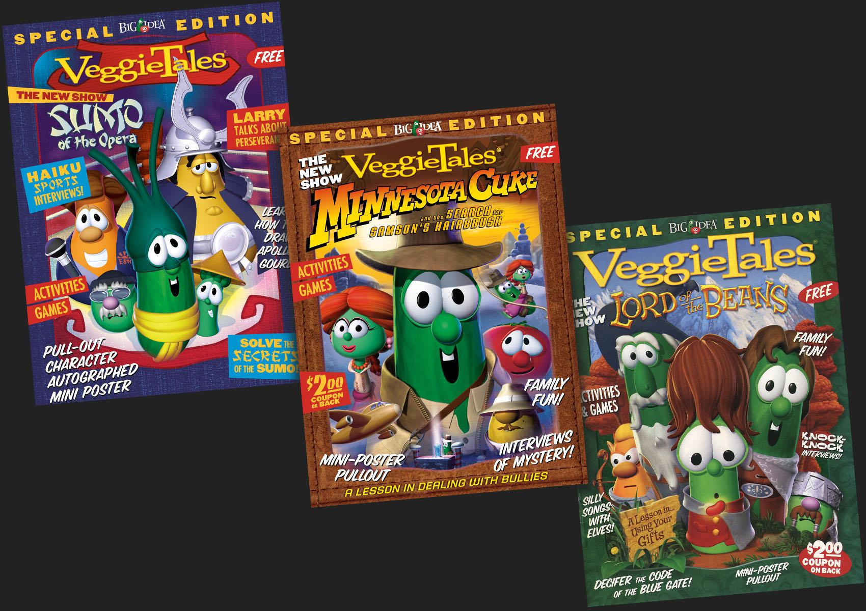 VeggieTales Mini Mag