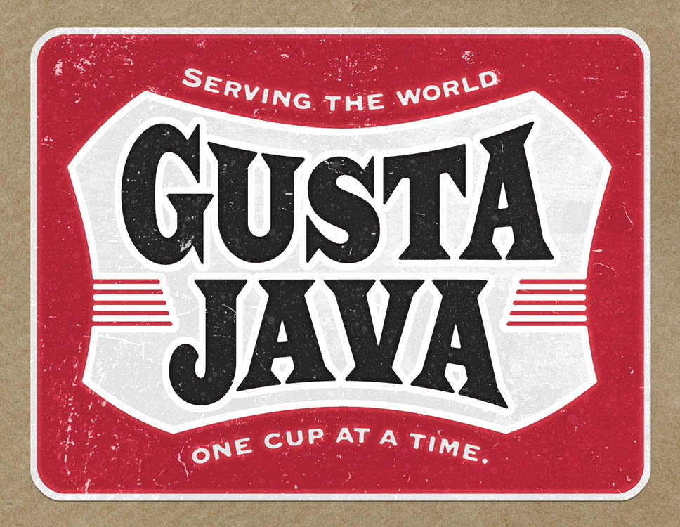 Gusta Java Label Design