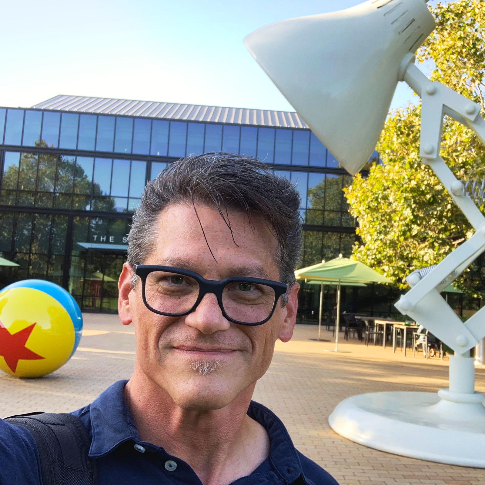 John At Pixar Campus