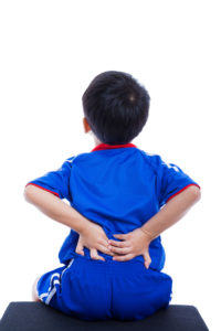 Musculoskeletal spine pain kids