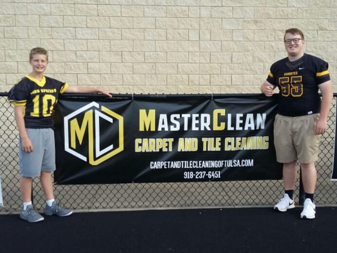 Sand Springs Carpet Cleaning banner