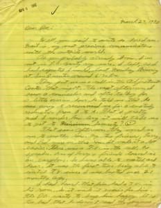 William Bonin Letter 01