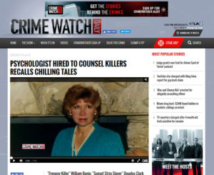 Crime Watch Daily Vonda Pelto December 2015 Interview Video Page on Crime Watch Daily Website.