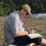 dustin thompson writing beach