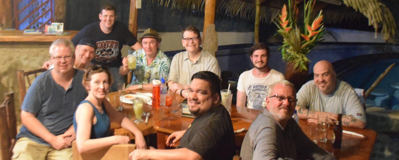 dinner writers retreat villa leonor