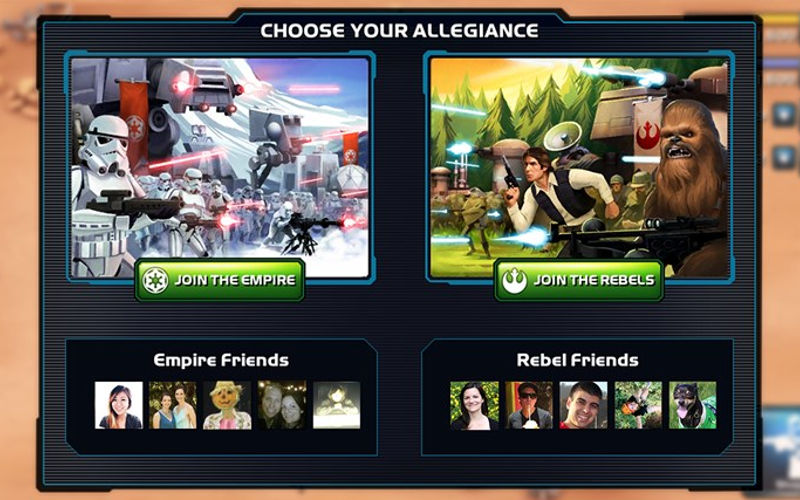 You Can Now Recruit Luke Skywalker and Darth Vader in Star Wars Commander