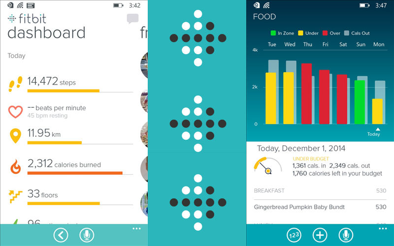 FitBit for Windows Phone Gains Mobile Run, Mobile Badges Support