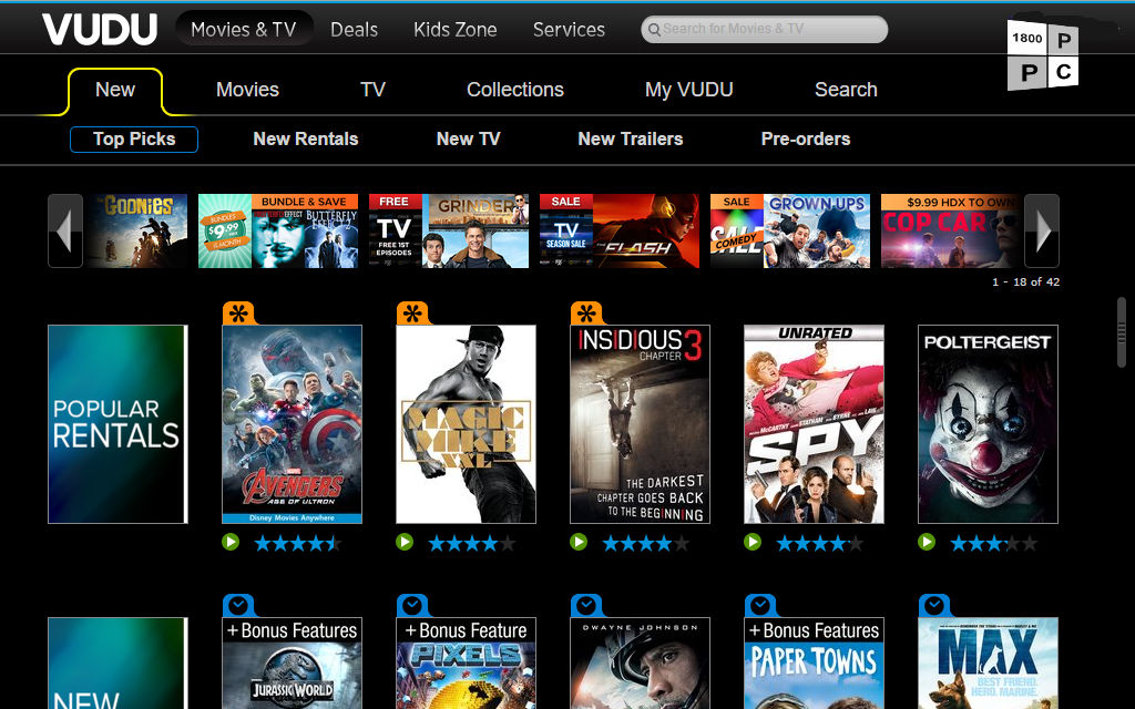 Want to stream your VUDU movies on Windows 10 Mobile? Time to play the waiting game