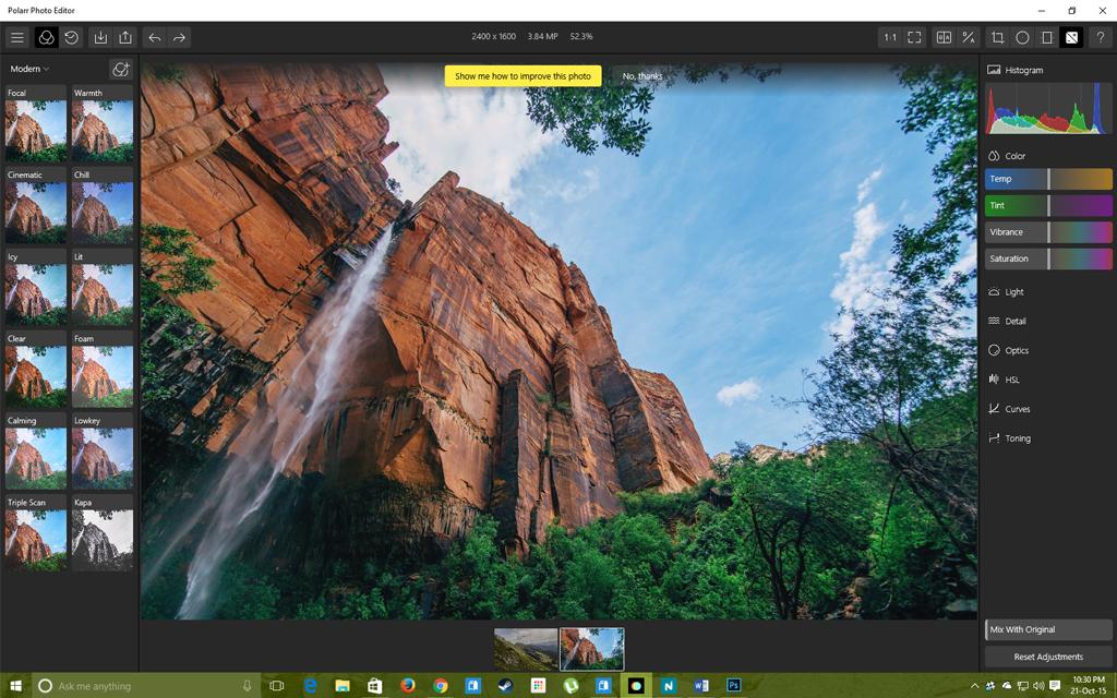 Polarr Photo Editor for Windows 10
