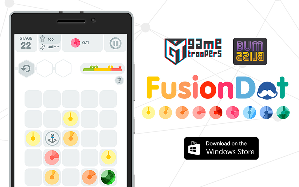 FusionDot the puzzle game now available