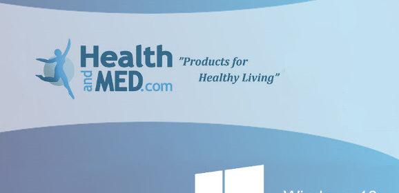 Windows 10 app for Natural Health Website HEALTHandMED Now Available