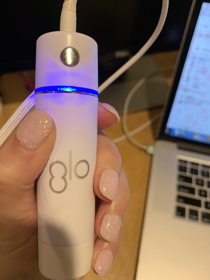 GLO Science whitening kit