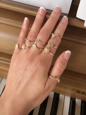 OnePosh boho Ring set