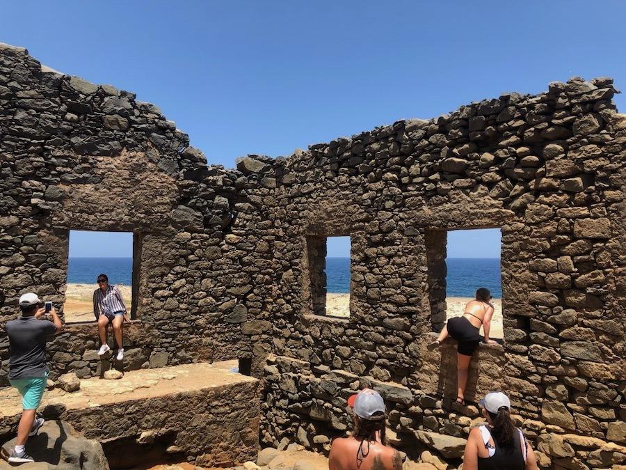 Aruba Gold Mine Ruins