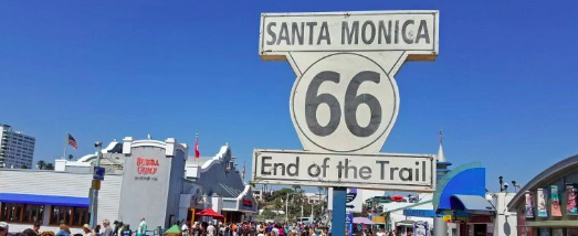 Santa Monica Here We Come…