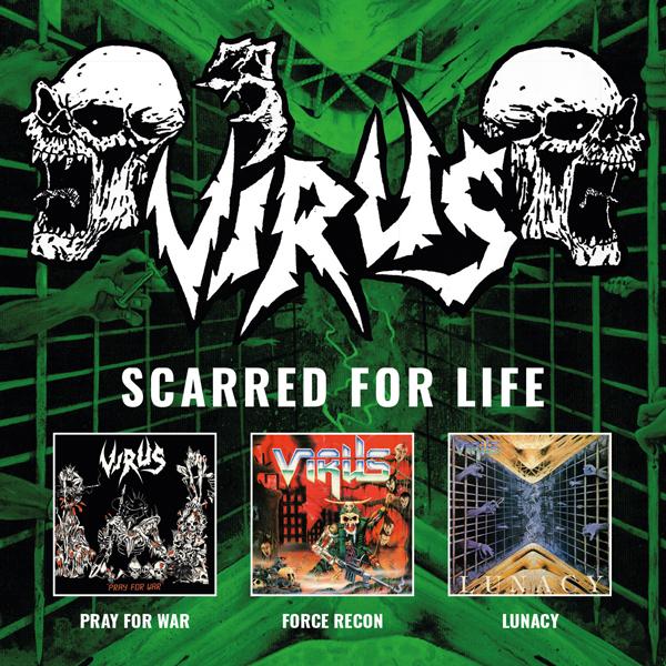 VIRUS Plastic Head CD Box Set