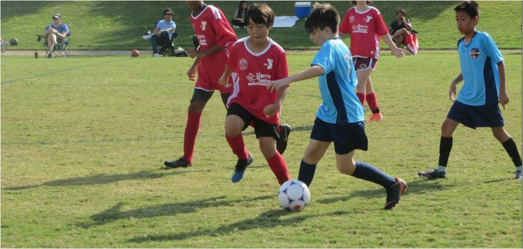 Soccer for ages 12 and under.