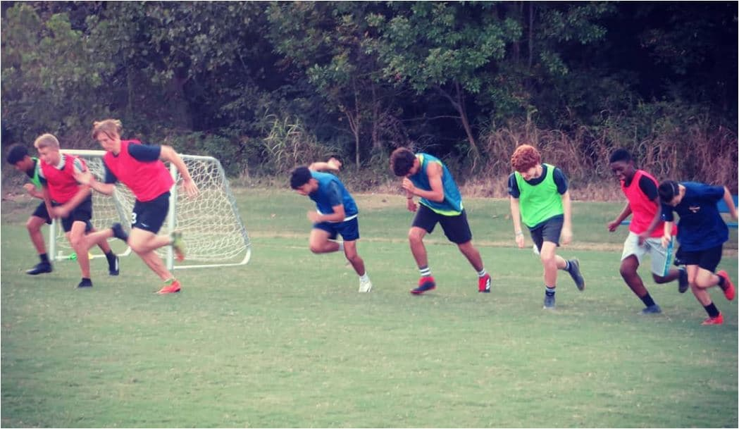 Hope Soccer Ministries U18 Practice