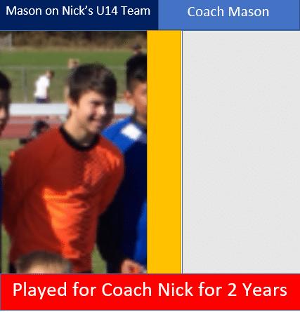 Hope Soccer Coach for the U10 boys team.