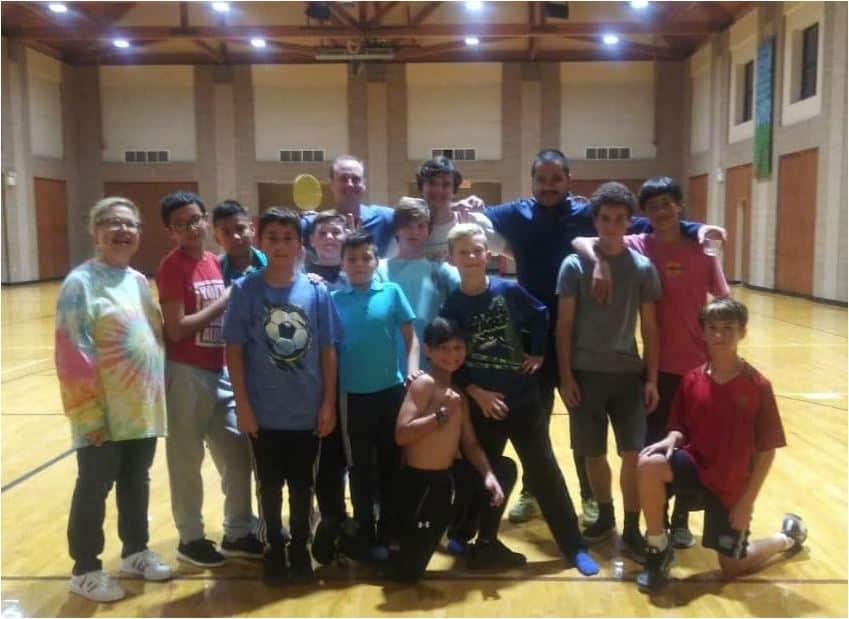 Hope Soccer Boys U14 Team Party