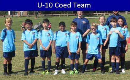 Hope Soccer Team for 10 year olds.