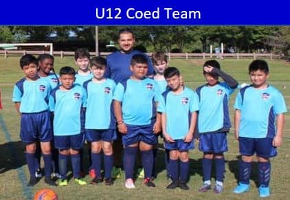 Hope Soccer Rec Team for 12 year old boys.