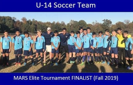 Youth Rec Soccer Team for 14 year old boys.