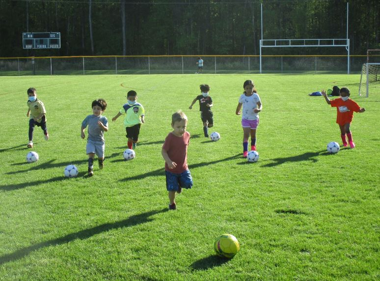 Hope Soccer Ministries has practice
