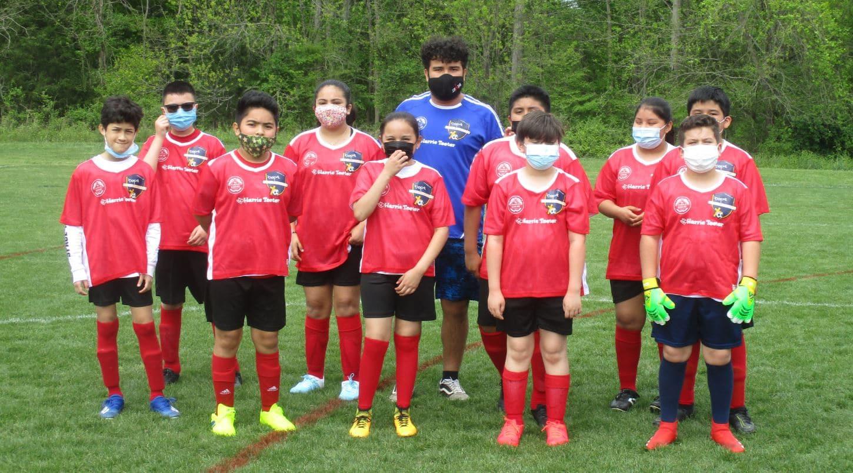 Sterling Elementary soccer team at Hope.