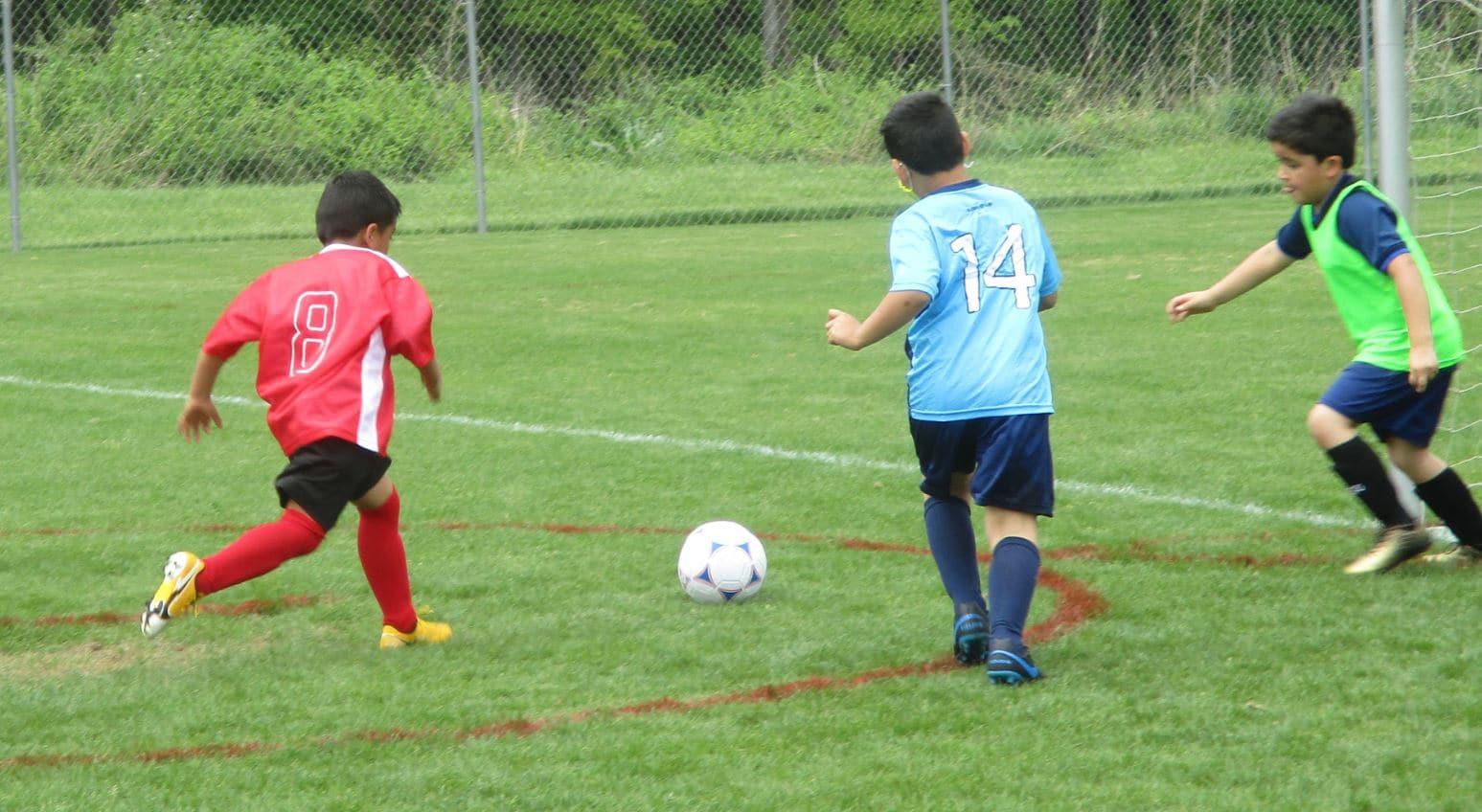Hope Soccer Red Team vs Hope Soccer Blue Team