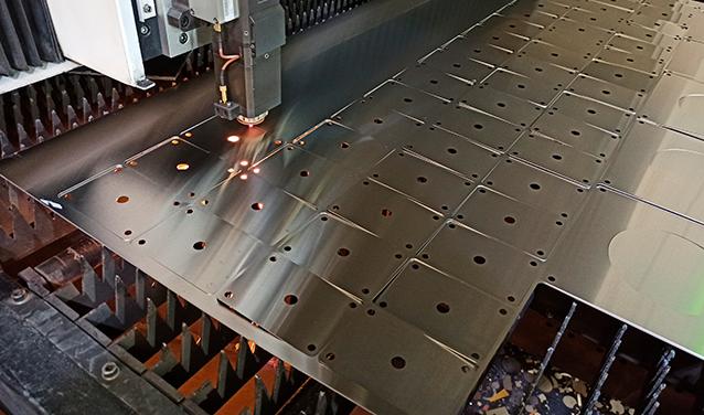 corte laser lámina metálica