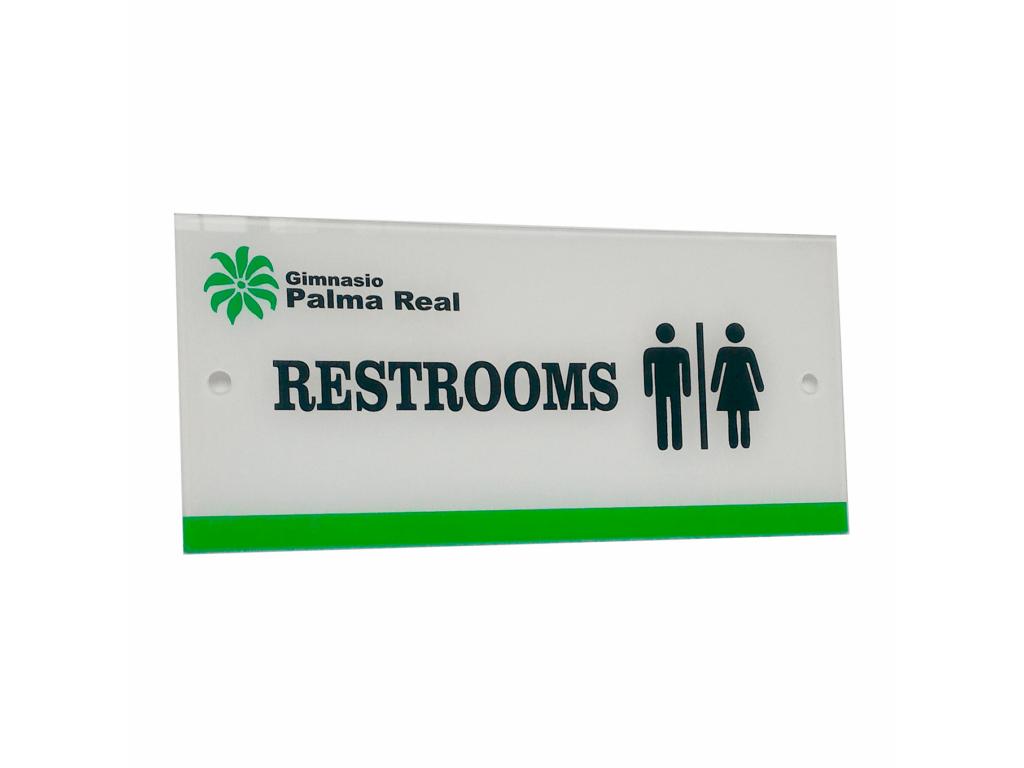 señal baño