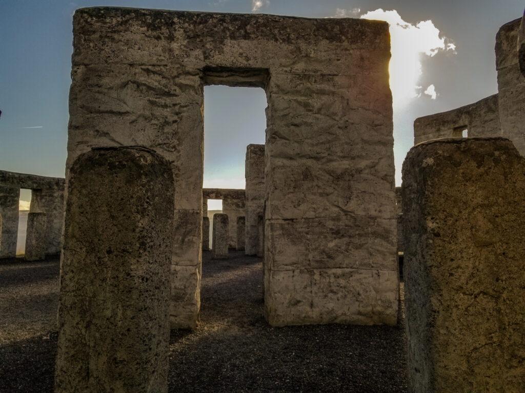 Inside Maryhill's Stonehenge