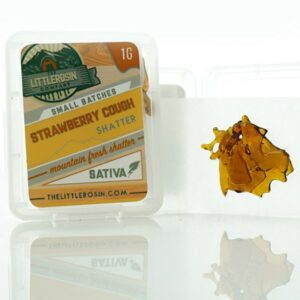 the little rosin company strawberry cough shatter