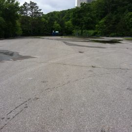 E.T Seton Parking Lot