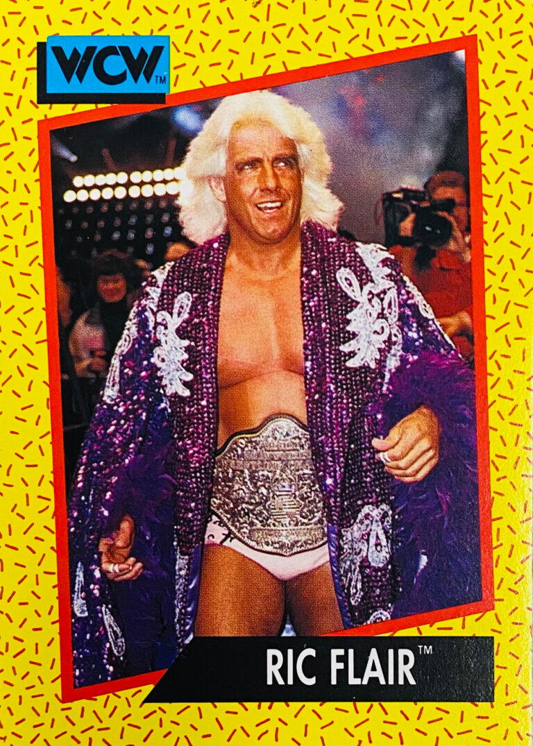 1991 WCW The Stomp Collection Premiere Edition Trading Cards (Impel)