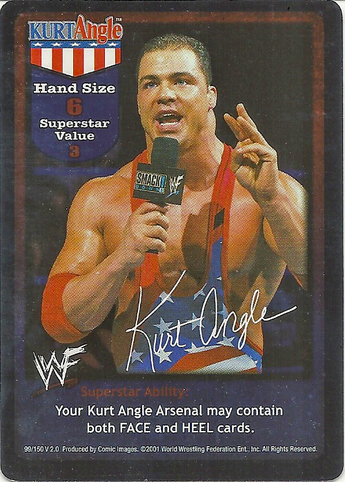 2001 WWF RAW Deal: Fully Loaded  (Comic Images)