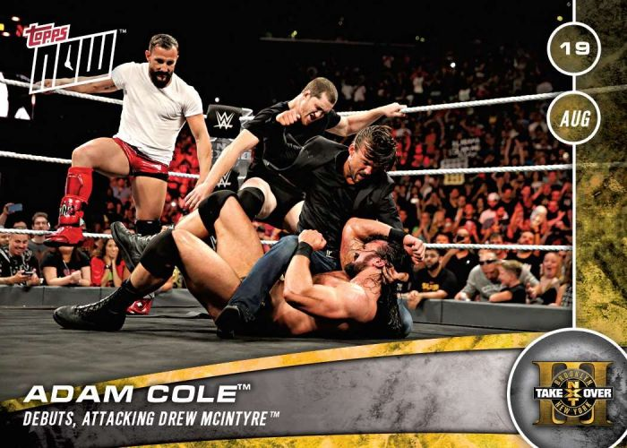 2016 2017 NXT Topps Now Card 23