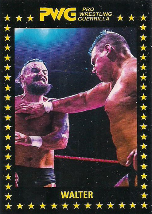 2017 PWG Battle Of Los Angeles Trading Cards Walter