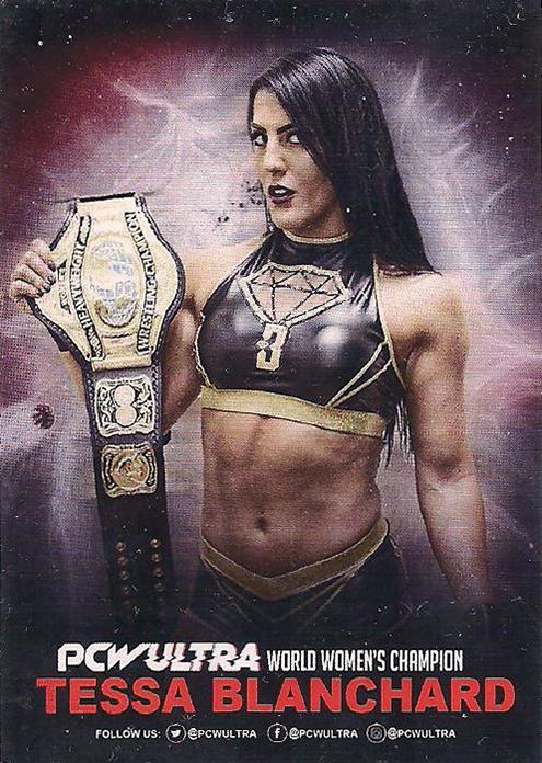 2018 – 2021 PCW Ultra Wrestling Cards