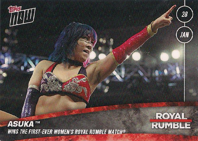 2018 WWE Topps Now  (Topps)