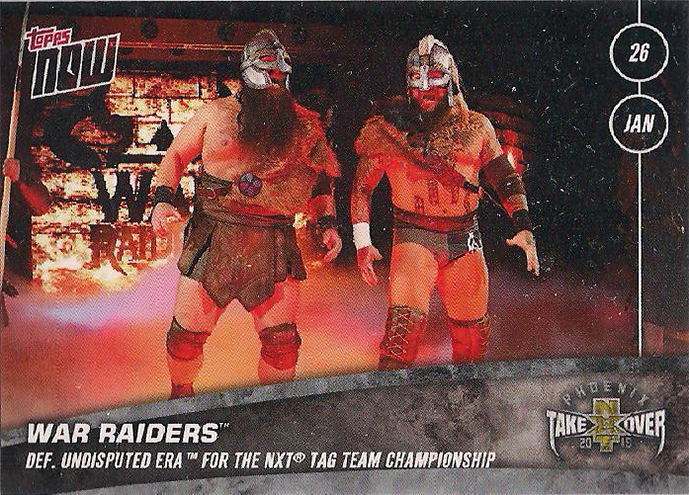 2019-2020 NXT Topps Now 1