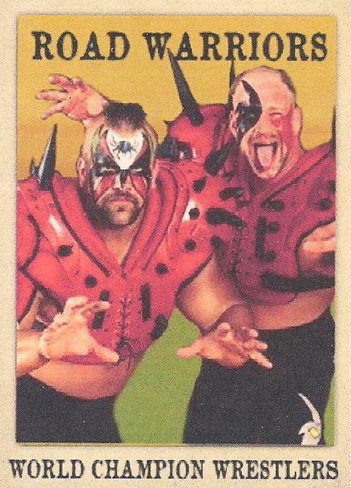 2020 Nighthawk Cigar Wrestling Cards Road Warriors