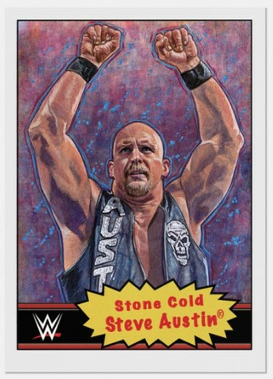 2021 WWE Topps Living Set Stone Cold Steve Austin