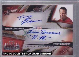 Tommy & Trisa TNA Xtreme Autograph Card