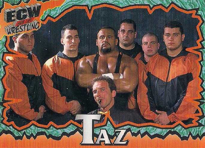 1997 ECW Wrestling Cards