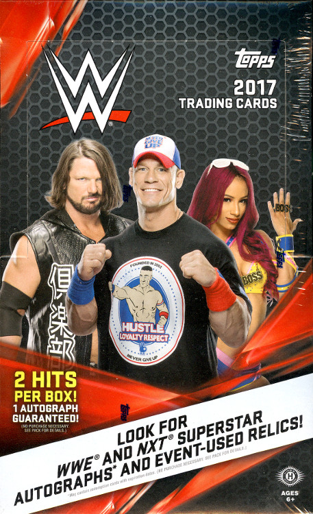 2017 WWE Trading Cards  (Topps)