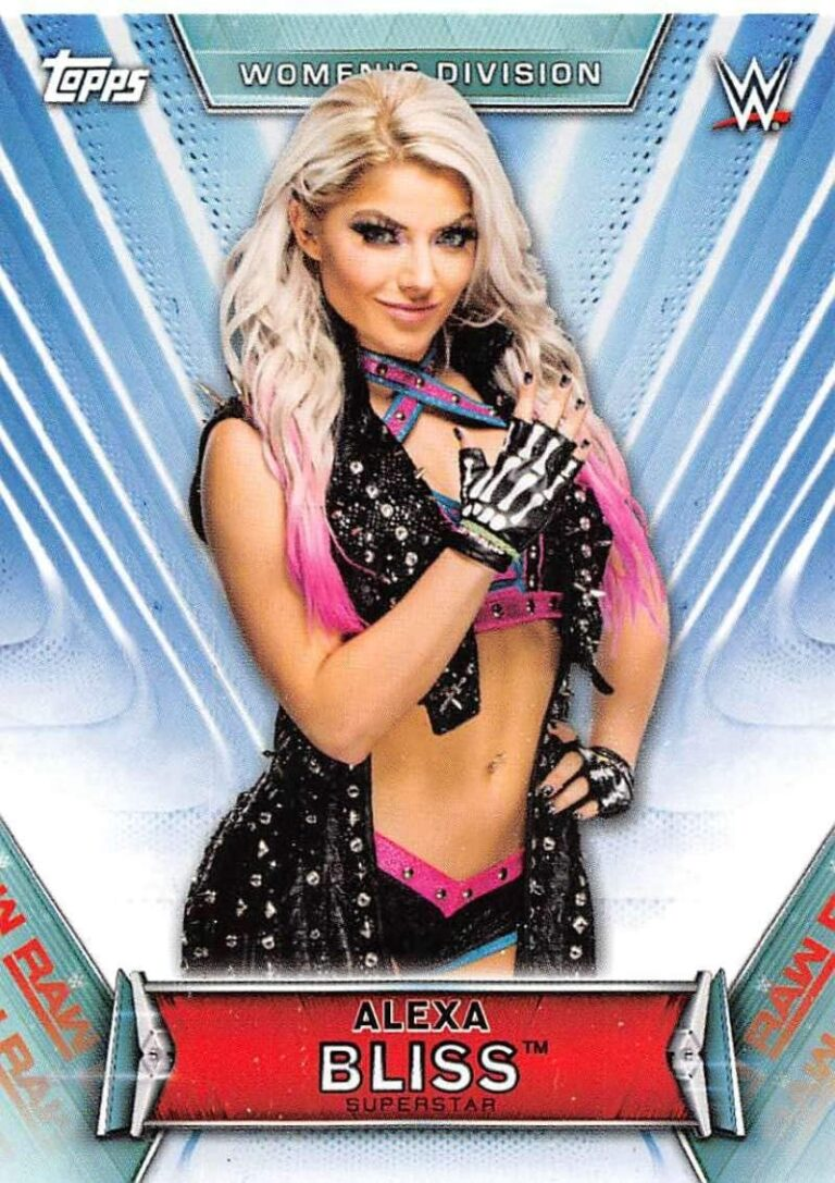 2019 WWE Women's Division  (Topps)