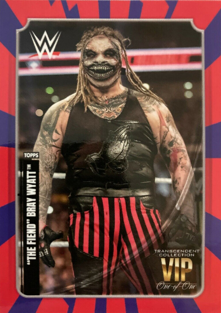 2020 WWE Transcendent VIP Party Trading Cards (Topps)